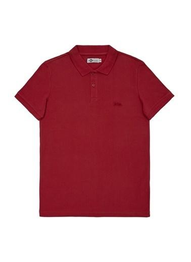 Lee Cooper Lee Cooper Erkek Kırmızı Polo T-Shirt Kırmızı